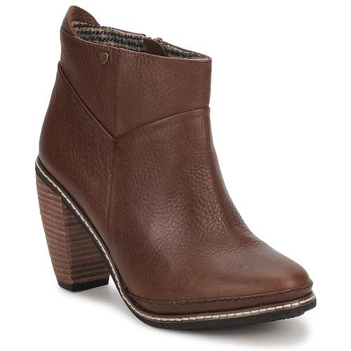 Chaussures Femme Bottines Feud LIGHT Marron