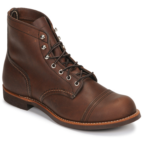 c5a719492be Chaussures Homme Boots Red Wing IRON RANGER Marron