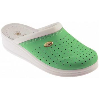 Chaussures Homme Sabots Sanital ART 1250 Mules Vert