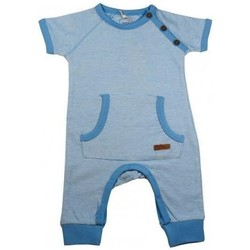 Vêtements Garçon Pyjamas / Chemises de nuit Name It Kids COMBINAISON GREGERS AZURE BLUE Couleur Bleu Bleu