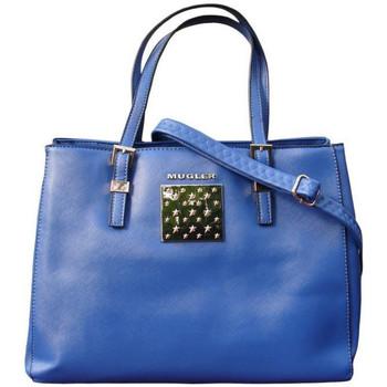 Sacs Femme Sacs porté main Thierry Mugler Sac  Eclat 1 Bleu Bleu