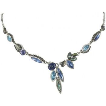 Montres & Bijoux Femme Colliers / Sautoirs Franck Herval Collier  FIREFLY collier 'Y' bleu 15--60511 Bleu