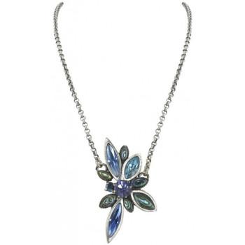 Montres & Bijoux Femme Colliers / Sautoirs Franck Herval Collier  FIREFLY petit collier bleu 15--60510 Bleu