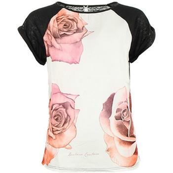 Vêtements Femme T-shirts manches courtes Deeluxe T-Shirt Femme Springy Black 38