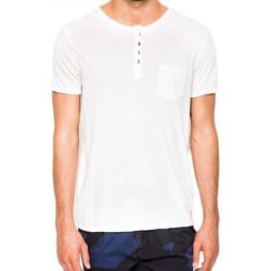 Vêtements Homme T-shirts manches courtes Guess T-Shirt Col Rond Homme M51P05 Blanc 1