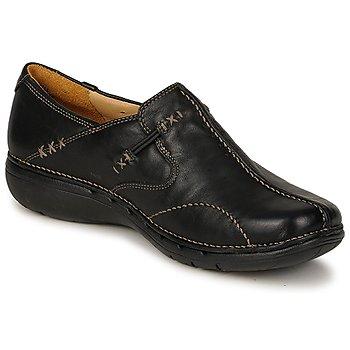 Chaussures Femme Ballerines / babies Clarks UN LOOP Noir