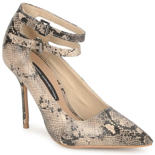 Escarpins Jamelia Connection Beige French Femme W2DYHE9I