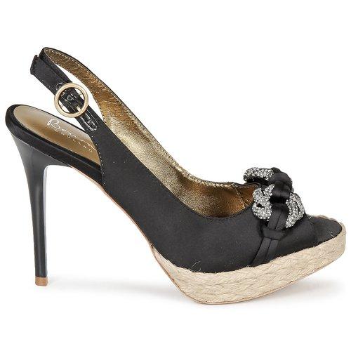 pieds Black Et Nu Bourne Femme Sandales Verity v76bYyfg