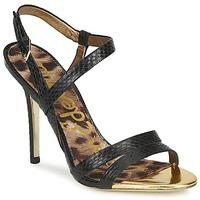 Chaussures Femme Sandales et Nu-pieds Sam Edelman ABBOTT BLACK SNAKE