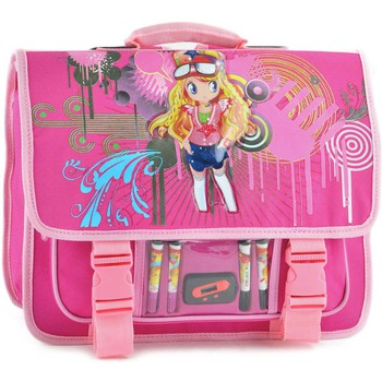 Cartables Miniprix CARTABLE 2 COMPARTIMENTS GIRL 411-000B6628