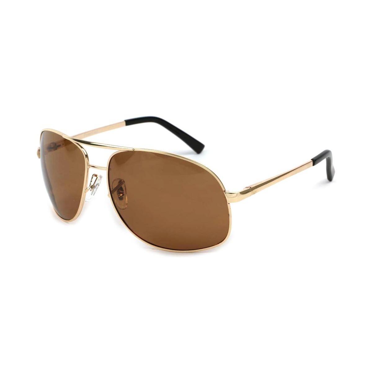 Eye Wear Lunettes Polarisante YouKnow avec monture dorée Jaune