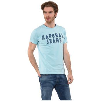 Vêtements Homme T-shirts manches courtes Kaporal T-Shirt  Hoopy Skyblue Bleu