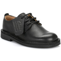 Chaussures Garçon Derbies Clarks Infant Black Desert London Shoes Clarks_154