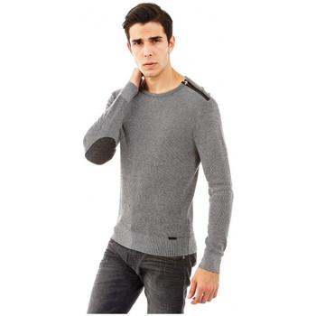 Vêtements Homme Pulls Guess Pull FILOMENO gris Gris