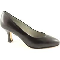 Chaussures Femme Escarpins Real Moda La vraie mode 014 cuir des chaussures noires seule femme de deco Nero