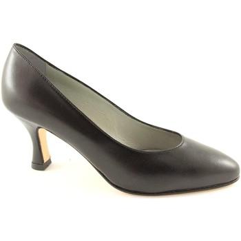 Escarpins Real Moda La vraie mode 014 cuir des chaussures noires seule femme de deco