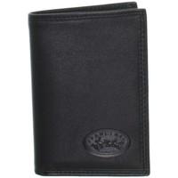 Sacs Homme Portefeuilles Francinel Porte-cartes  en cuir ref_lhc25518-noir Noir
