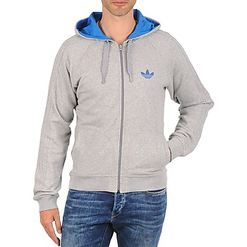 Vêtements Homme Sweats adidas Originals SLIM FIT HOODIE Gris