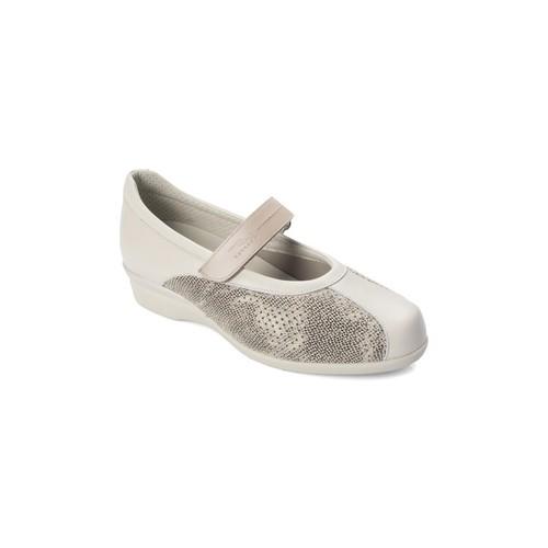 Chaussures Femme Ballerines / babies Dtorres D TORRES danseuse aux pieds très larges BEIGE