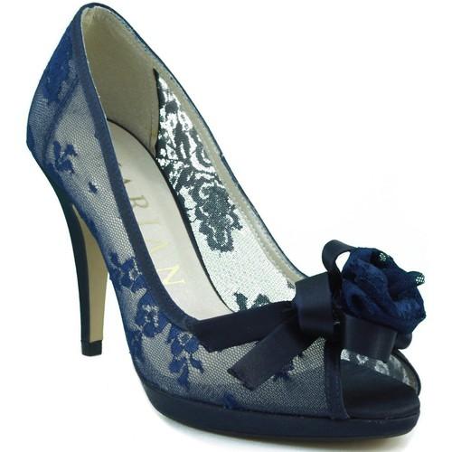 Marian chaussure confortable partie transparente NOIR - Chaussures Escarpins Femme