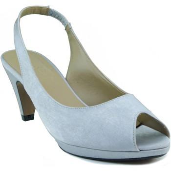 Chaussures Femme Sandales et Nu-pieds Marian bas de talon de chaussure GRIS