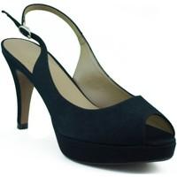 Chaussures Femme Sandales et Nu-pieds Marian chaussures de soirée femme NOIR