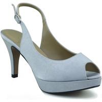 Chaussures Femme Sandales et Nu-pieds Marian chaussures de soirée femme GRIS