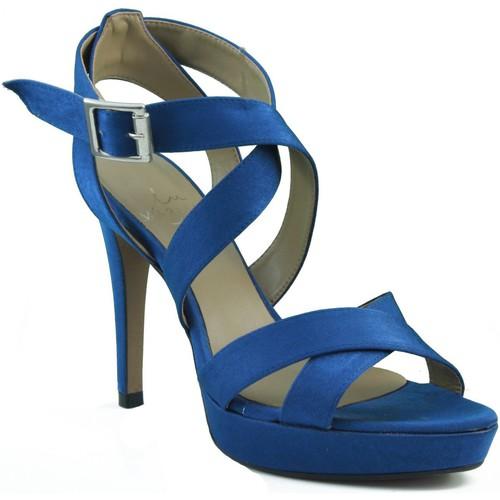 Chaussures Femme Sandales et Nu-pieds Marian Les chaussures de soirée à talons. BLEU