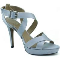 Chaussures Femme Sandales et Nu-pieds Marian Les chaussures de soirée à talons. GRIS