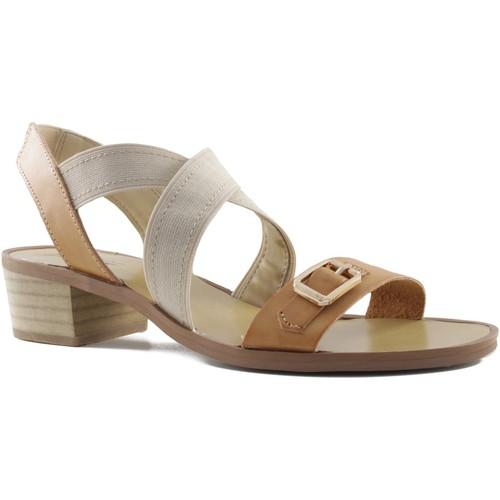 Chaussures Femme Sandales et Nu-pieds MTNG MUSTANG talon carré sandale BRUN