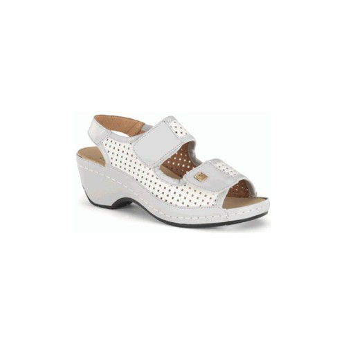Chaussures Femme Sandales et Nu-pieds Calzamedi ORTO BLANC