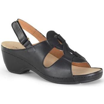 Chaussures Femme Sandales et Nu-pieds Calzamedi sandale orthopédique NOIR
