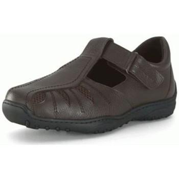Chaussures Homme Derbies Calzamedi Sandale Herren diabetischen Fuß BRUN