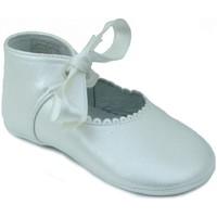 Chaussures Fille Chaussons bébés Rubio Y Castaño RUBIO Y CASTANO GUARDAMAR BLANC