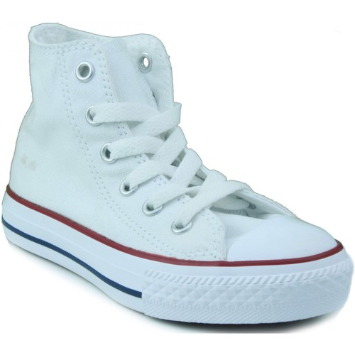 Chaussures Enfant Baskets montantes Converse ALL STAR BLANC