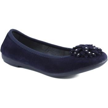 Chaussures Fille Ballerines / babies Vulladi Ballerine  de caoutchouc BLEU