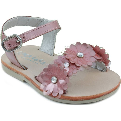 Chaussures Enfant Sandales et Nu-pieds Oca Loca OCA APRP sandale en cuir verni ROSE