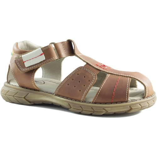 Chaussures Enfant Sandales et Nu-pieds Gorila BIARRTIZ KING BRUN