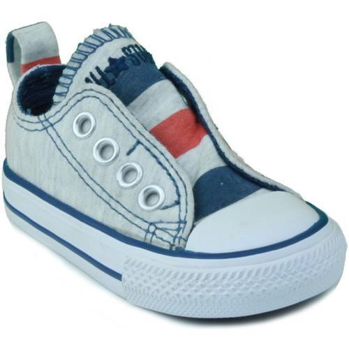 Chaussures Enfant Baskets basses Converse AS SLIP OX BLEU