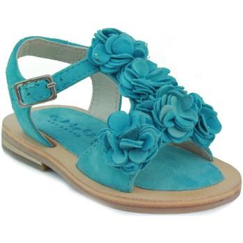 Chaussures Fille Sandales et Nu-pieds Oca Loca OCA APRP fleurs bébé sandale CELESTE