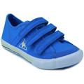 Chaussures Garçon Baskets basses Le Coq Sportif SAINT MALO PS STRAP BLEU