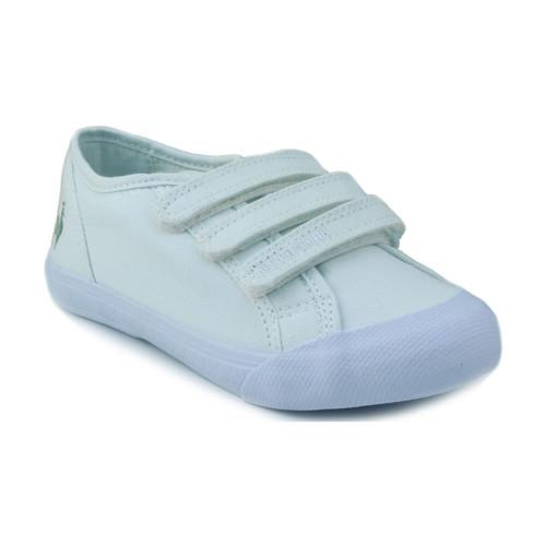 Chaussures Enfant Baskets basses Le Coq Sportif SAINT MALO PS STRAP BLANC