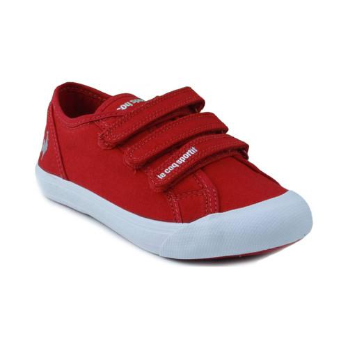 Chaussures Enfant Baskets basses Le Coq Sportif SAINT MALO PS STRAP ROUGE