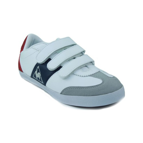 Chaussures Enfant Baskets basses Le Coq Sportif MEXICO PS STRAP BLANC