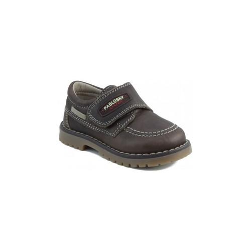 Chaussures Enfant Baskets basses Pablosky TOMCAT NAUTIQUE BRUN