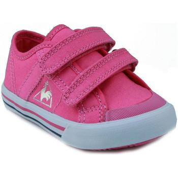 Chaussures Enfant Baskets basses Le Coq Sportif  DEAUVILLE ROSE