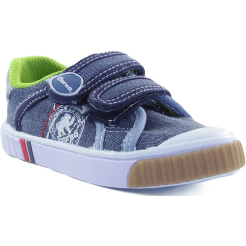 Chaussures Enfant Baskets basses Gorila STONE MOSS BLEU