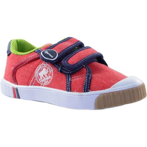 Chaussures Enfant Baskets basses Gorila STONE MOSS ROUGE