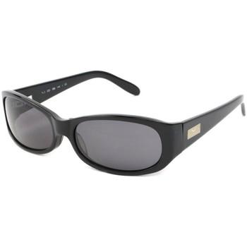 Montres & Bijoux Lunettes de soleil Moski Lunettes Soleil Polarisées Amarante Noires Noir