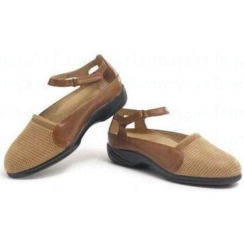 Chaussures Femme Ballerines / babies Calzamedi thérapeutique BRUN